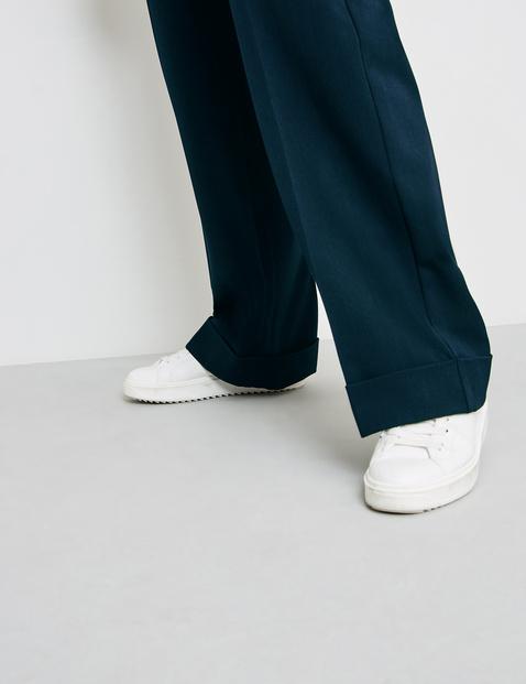 Marlene trousers with turn-ups, Carlotta