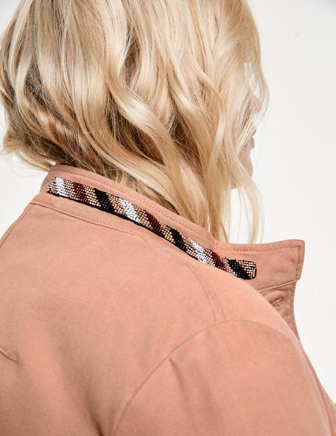 Sporty cotton blazer
