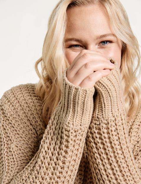 Pullover aus Grobstrick