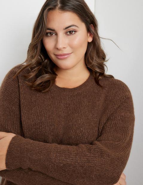 Soft rib knit jumper