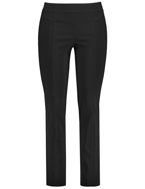 Spodnie ze streczem slim fit Lucy