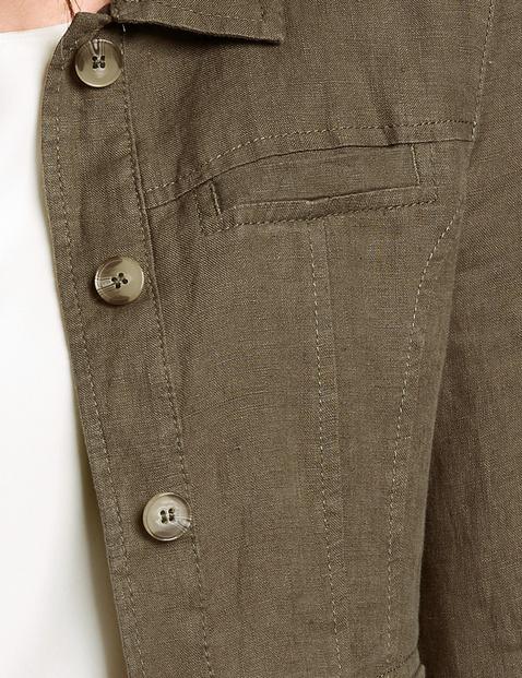Leichte Jacke aus Leinen