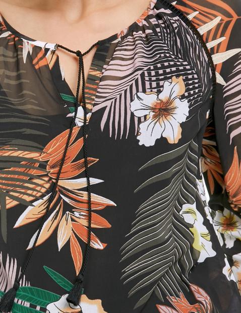 Tunika mit Flowerprint