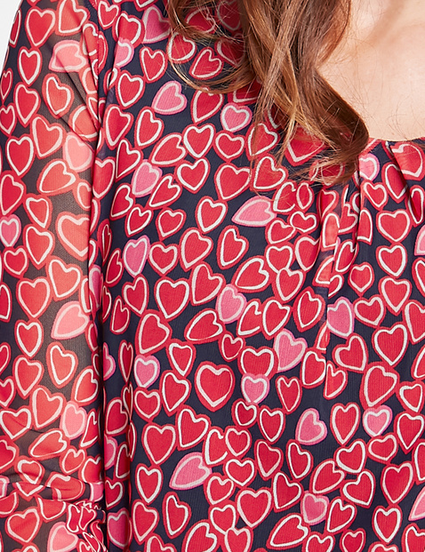 Langarmshirt Hearts