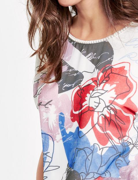 Shirt mit Art-Print
