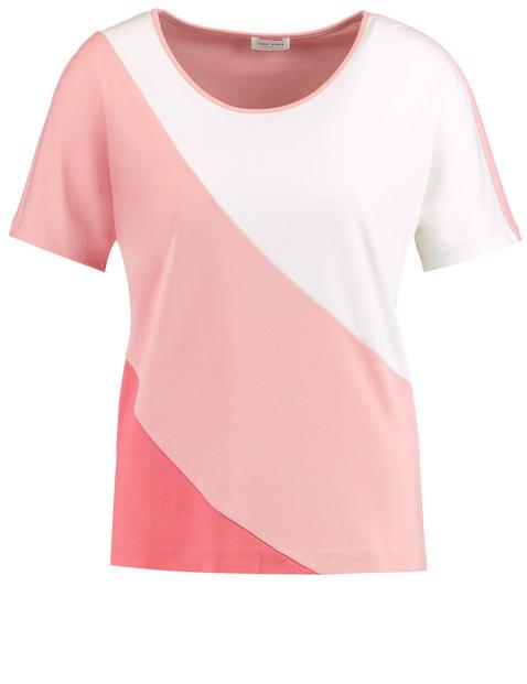 Shirt mit Streifenpatch