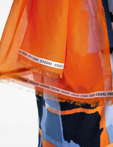Schal aus Baumwolle-Seide