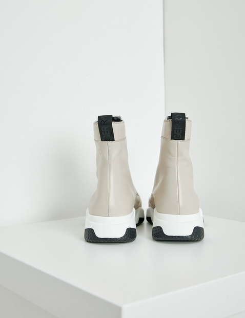 Doha leather ankle boots