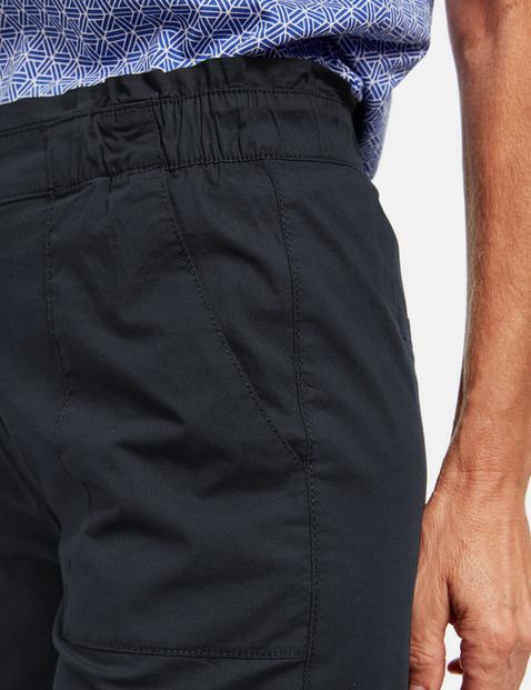 Shorts aus stretchiger Baumwolle