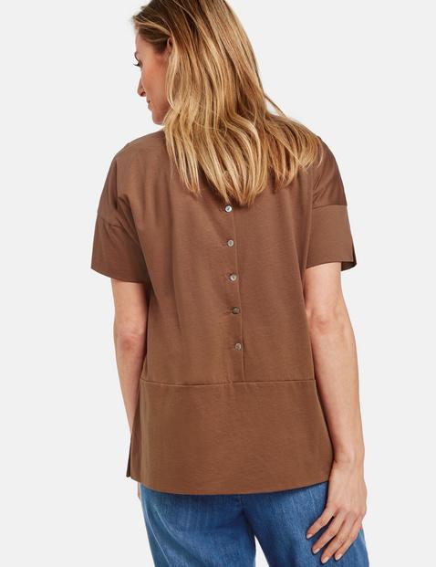 1/2 Arm Shirt aus Baumwolle