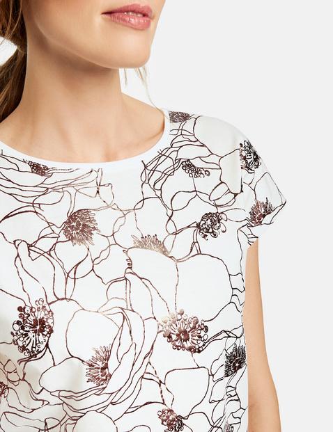 Shirt mit Folienprint organic cotton