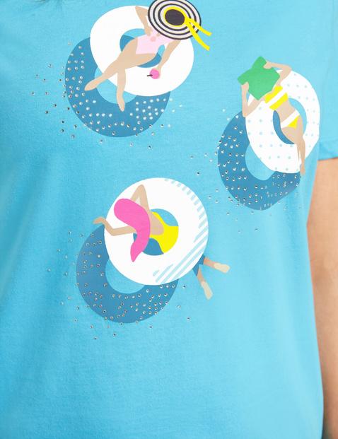 Shirt mit Mottoprint organic cotton