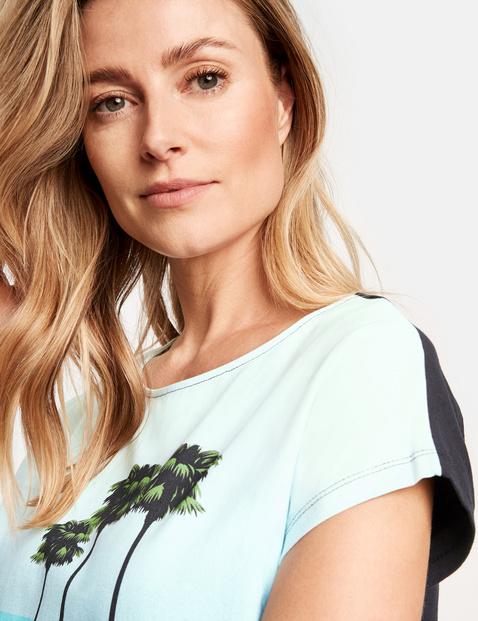 Shirt mit Frontprint organic cotton