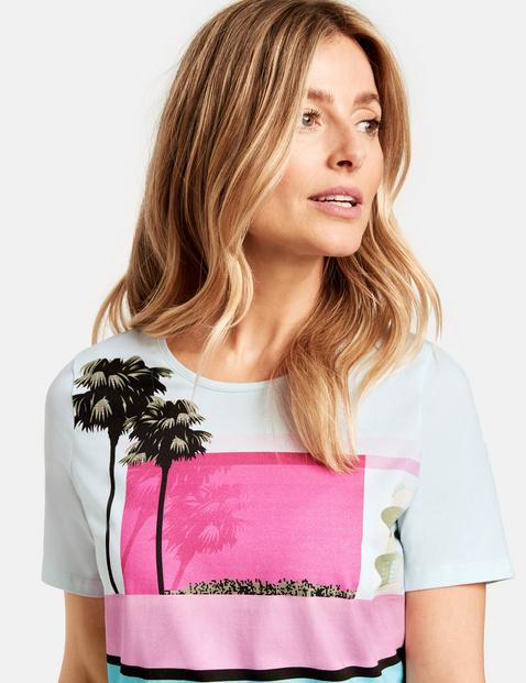 Shirt mit Patchprint organic cotton