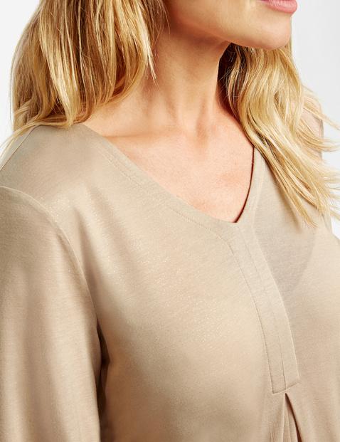 Shirt mit Glitterprint