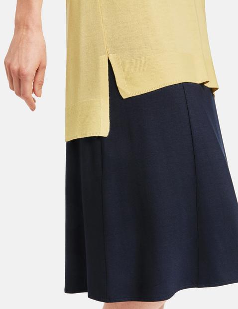 1/2 Arm Pullover aus Viskosejersey