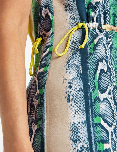 Kleid mit Tunnelzug in der Taille