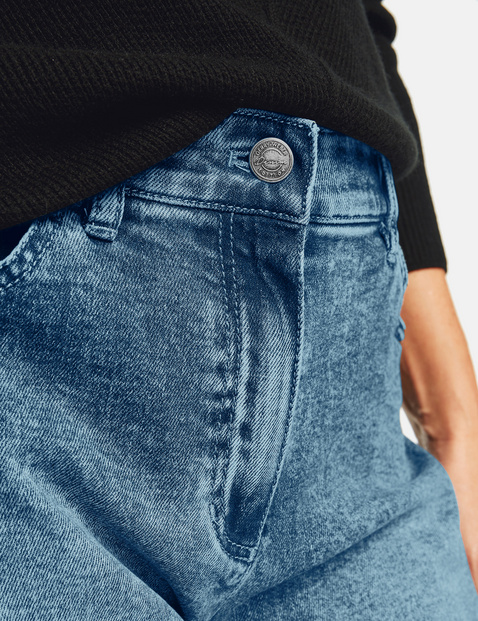 Verkürzte Jeans Boyfriend
