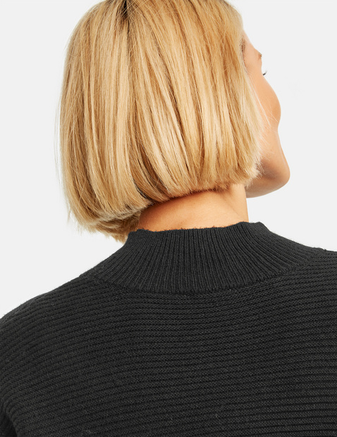 Pullover mit Turtleneck