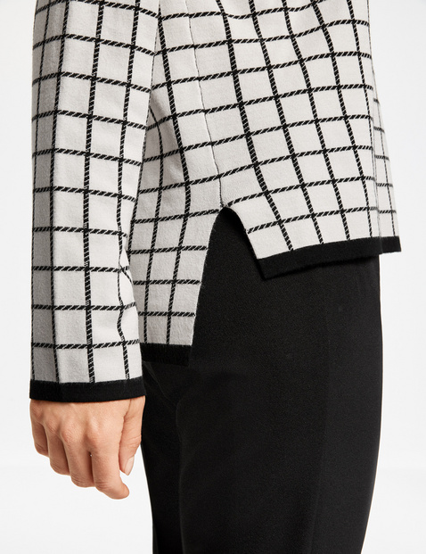 Pullover mit Karodessin