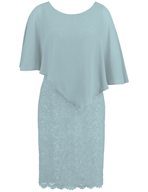 Kleid mit Überwurf