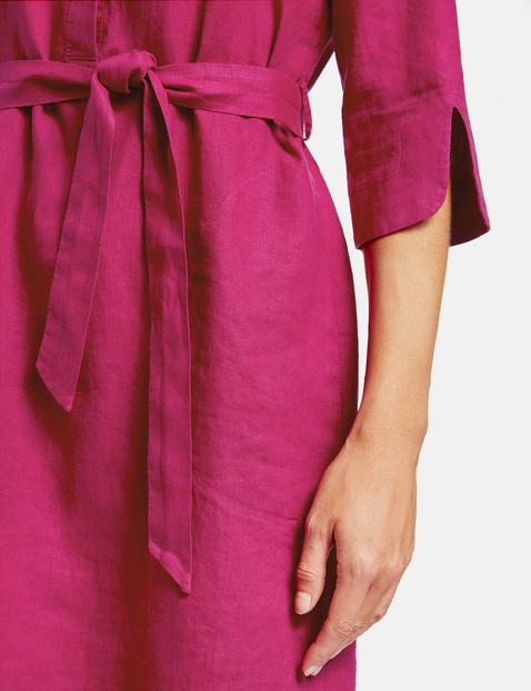 Hemdblusenkleid aus Leinen