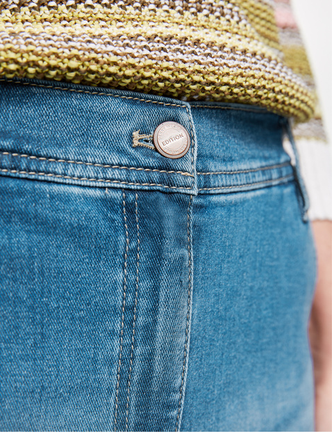 Jeans met used effecten Modern Fit