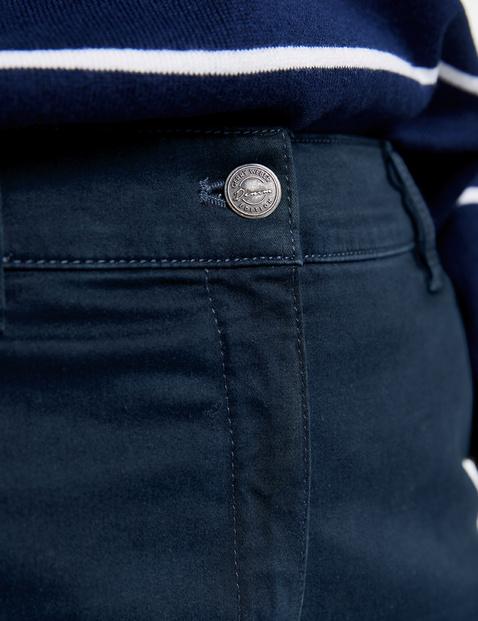 Spodnie chino z denimu