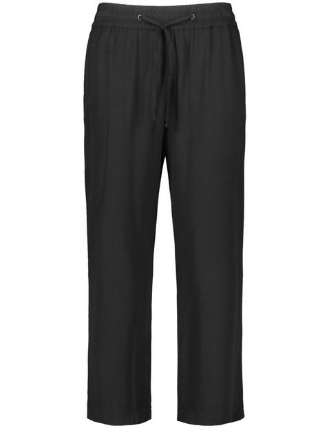 Przewiewne spodnie Easy Fit, EcoVero