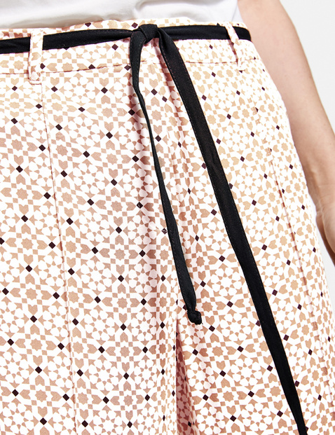 Patterned culottes, EcoVero