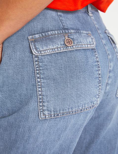 Dżinsowe szorty, bawełna organiczna