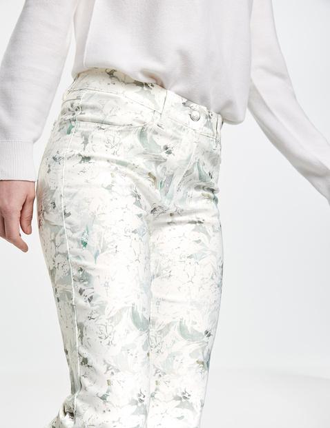 Gemuserte Jeans Regular Fit