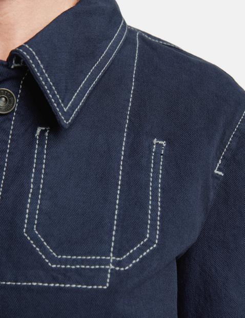 Jacke aus Stretchcotton