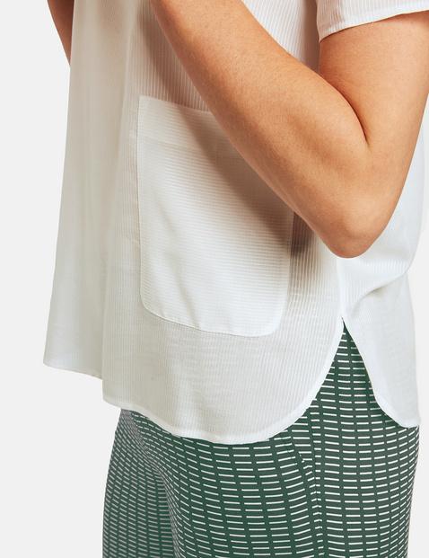 Blusenshirt mit weitem Arm