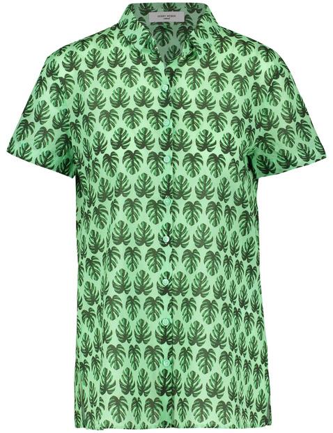 Bluzka w liście palmowe