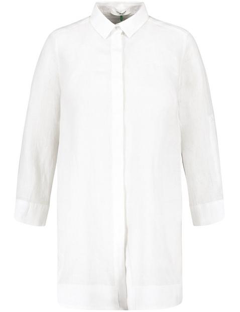 Long linen blouse