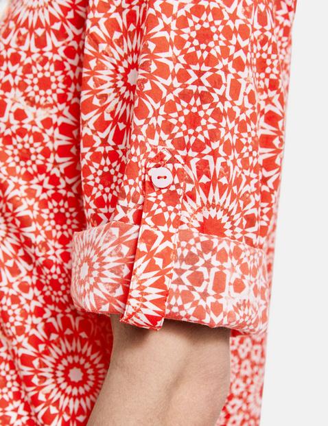 Bluse mit Ornamentmuster