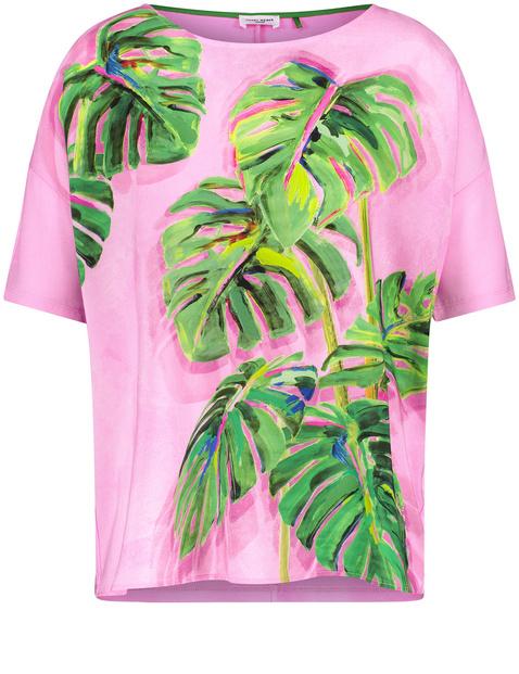 Shirt met print op de voorkant EcoVero
