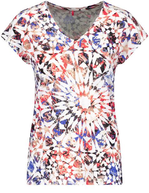 Koszulka z kwiatowym nadrukiem
