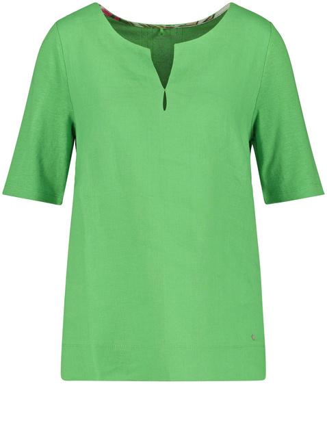 Shirt aus Leinen-Viskose
