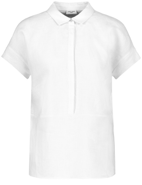 Koszulka polo z lnu