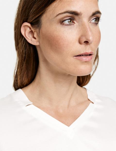 Shirt met V-hals EcoVero