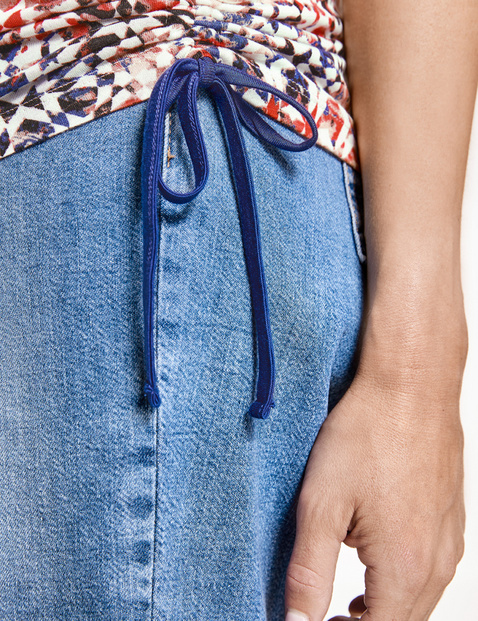 Koszulka z batikowym nadrukiem, EcoVero