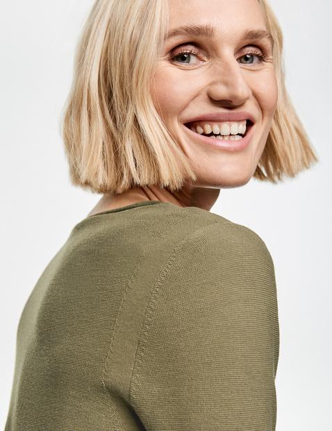 3/4 Arm Pullover aus Baumwolle