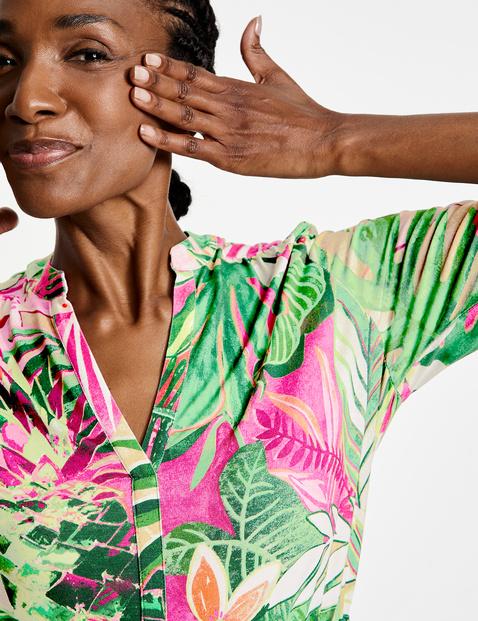 Kleid mit Flowerprint EcoVero