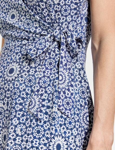 Kleid mit Wickeleffekt EcoVero