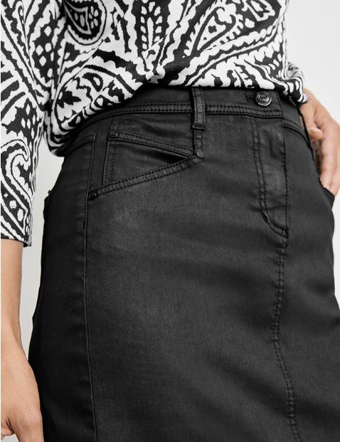 Coated skirt