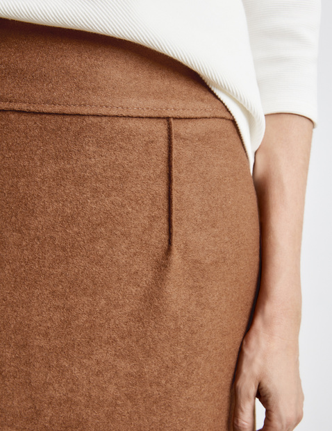Skirt with new wool