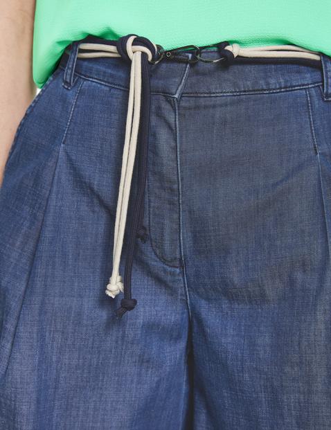 Culotte aus Jeans