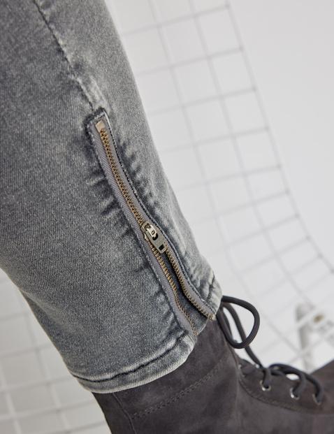 Jeans mit Saumzippern Best4me
